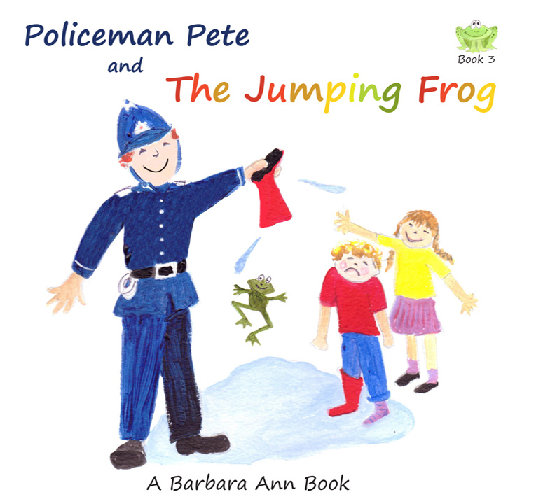 Policeman Pete and the Jumping Frog