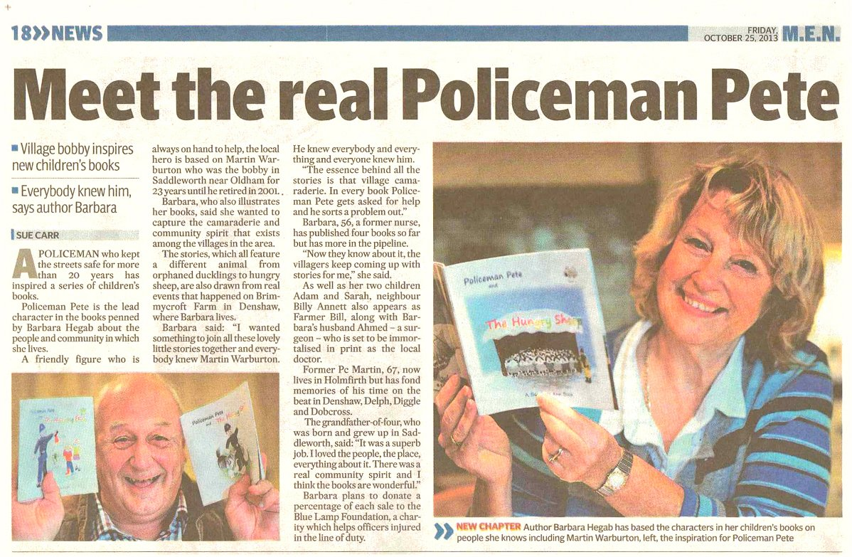 Policeman Pete Books MEN